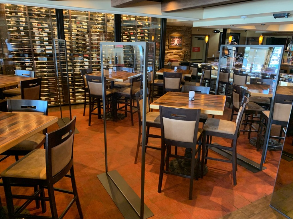 The Winery Restaurant Dining Room