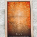 Tarot Card Message of the Day: Peace