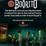 Come to Chipotle Locations in Costume on Halloween for Boorito Fundraiser