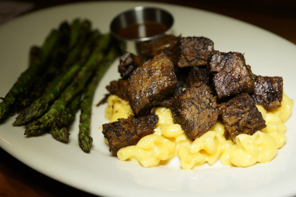 Burnt Ends Macaroni and Cheese - Wood Ranch Test Kitchen Unveils Burnt Ends - OC Mom Dining