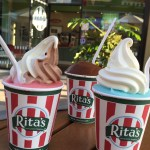 Italian Ice Happiness at Rita's Italian Ice