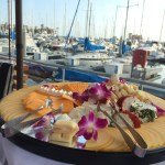 A Patio With a View At Bluewater Grill Redondo Beach