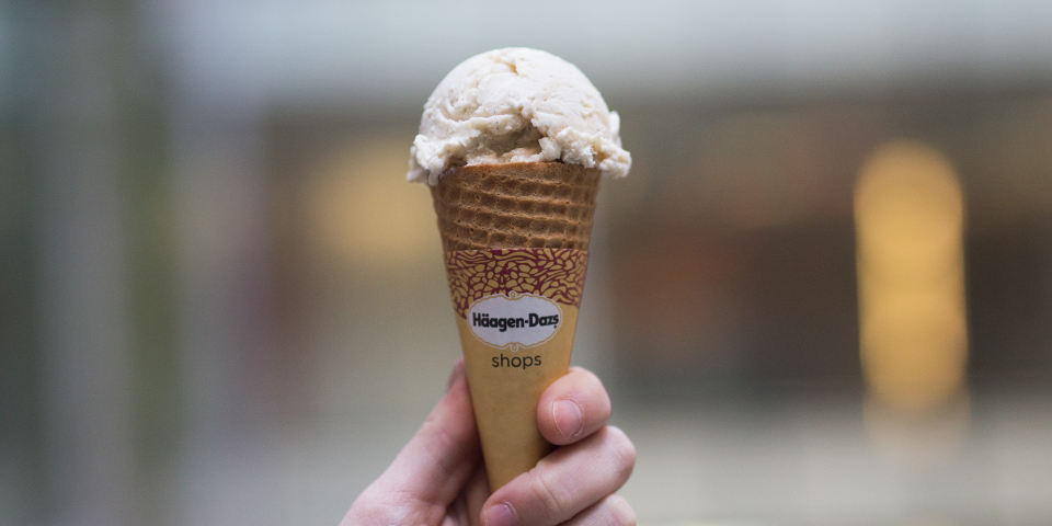 Haagen-Dazs Scoop of Ice Cream