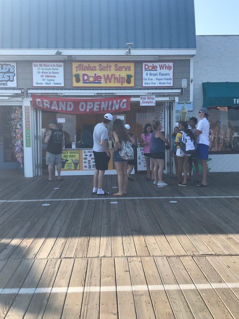 ALoha Soft Serve on the Boardwalk