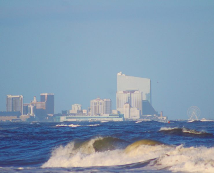 The View from Waverly Beach