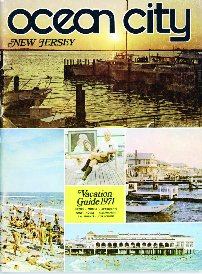 1971 Ocean City Vacation Guidebook