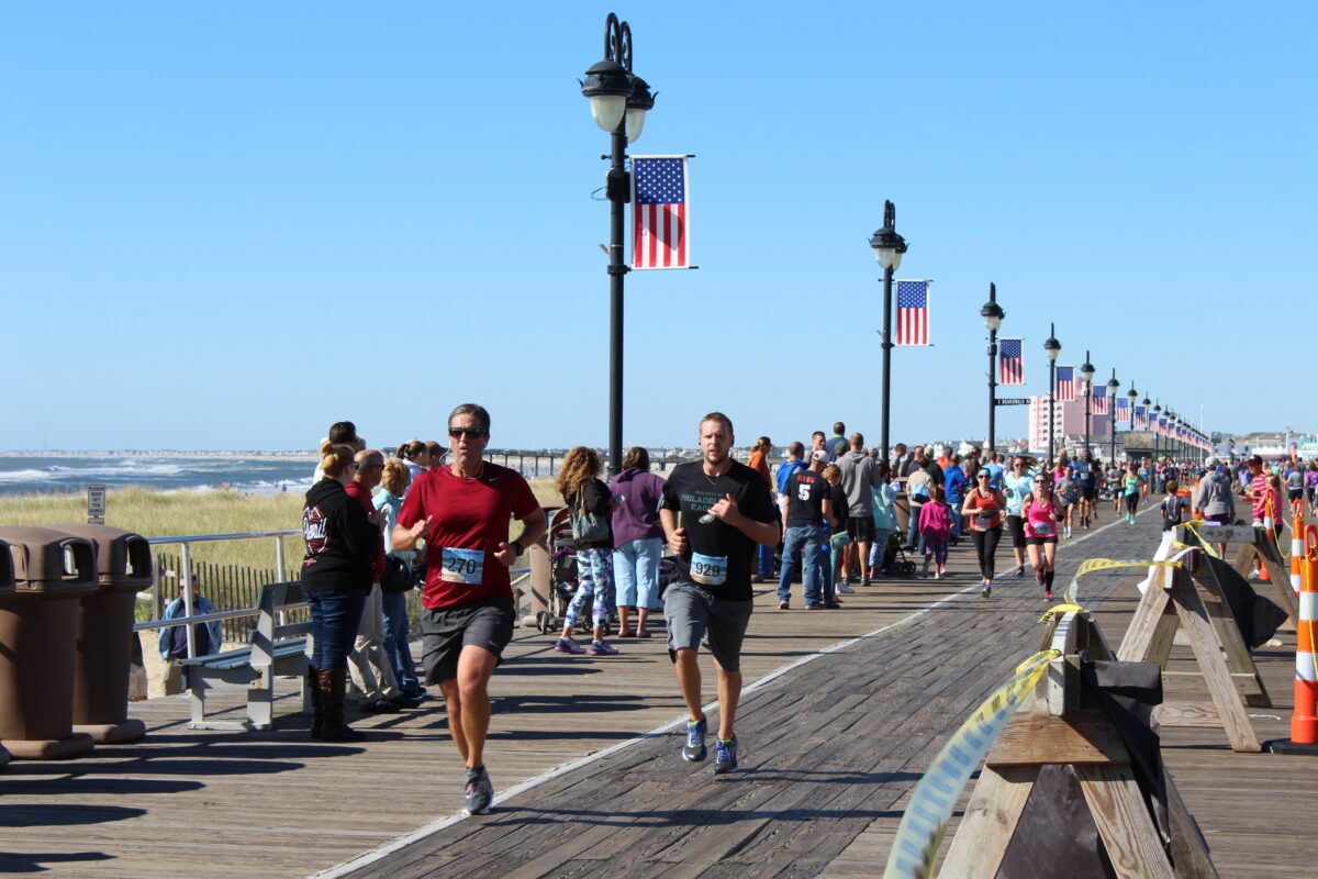 Running (courtesy of the City of Ocean City)