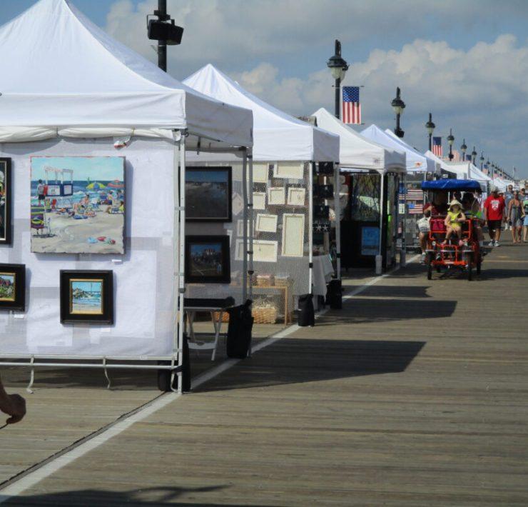 Boardwalk Art Show