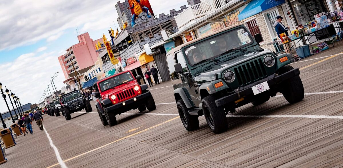 Jeep Invasion (courtesy of the City of Ocean City)