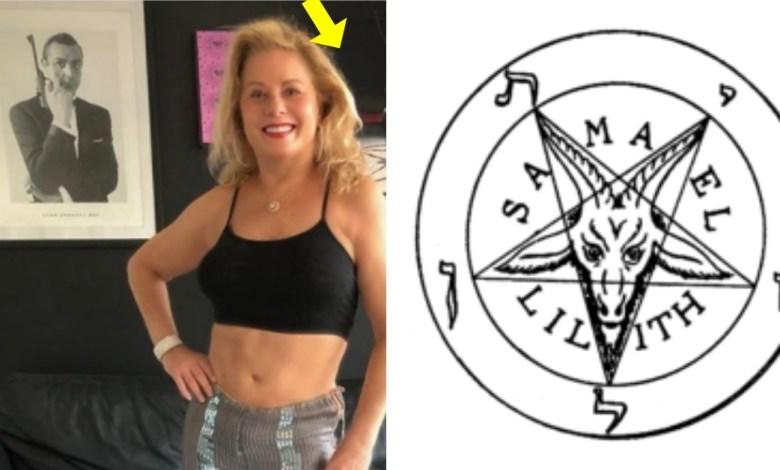 Vera Fischer e o satanismo