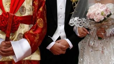 mãe descobriu filha no casamento do filho