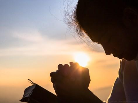 Pedir em oração