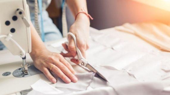Profissão costureira