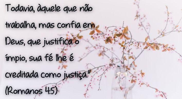 Fé acrescenta Justiça