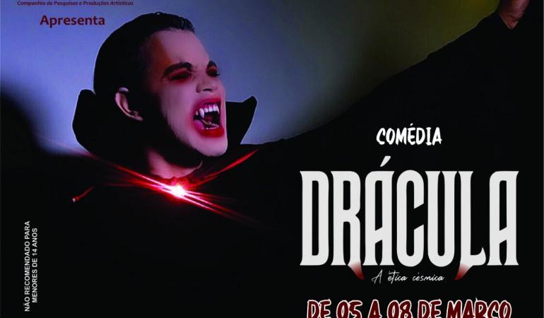 Drácula em comédia estreia nesta quinta, no Fernanda Montenegro