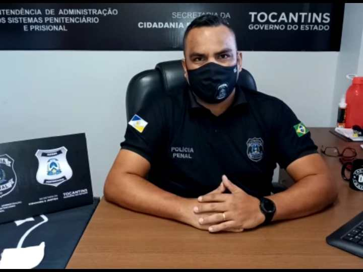 Presídios do Tocantins limitam recebimento de novos presos por 15 dias
