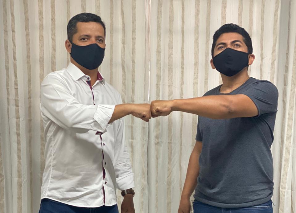 Vereador Carlos Silva declara apoio a pré-candidatura de Jorge Frederico à prefeitura de Araguaína