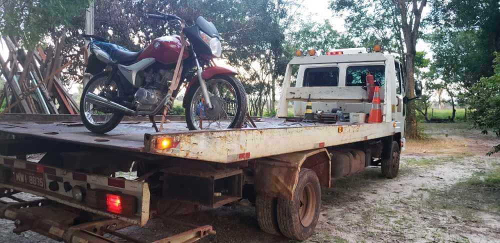 Motociclista inabilitado é preso após desrespeitar ordem de parada em Araguaína