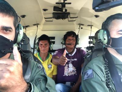 Em operação na Ilha do Bananal, bombeiros resgatam homem desaparecido