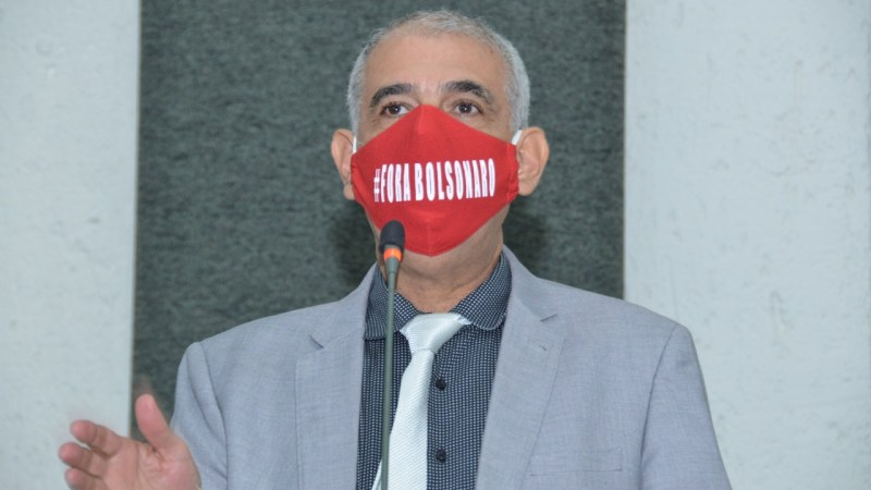 Deputado Zé Roberto Lula pede vacina, lockdown e fora Bolsonaro