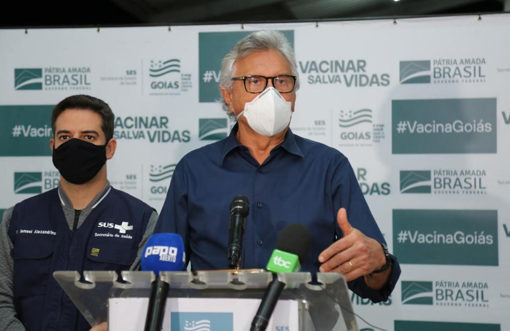 Goiás recebe nova remessa de vacina contra Covid-19