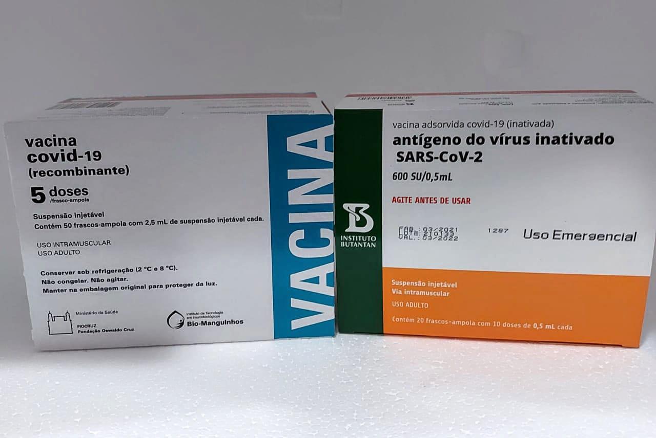 Tocantins deve receber mais 30.100 doses de vacinas contra a Covid-19 na tarde desta sexta-feira, 30