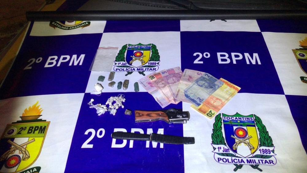 Homem de 21 anos é preso por tráfico de drogas em Araguaína