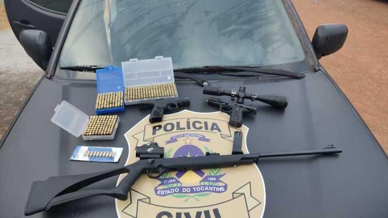 Disputa por posse de terra resulta na prisão de quatro suspeitos por prática de homicídio em Palmas