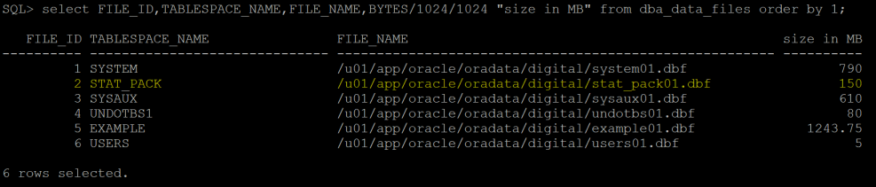 Statspack in Oracle