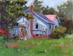 Jenn's Grandparents' House 11x14