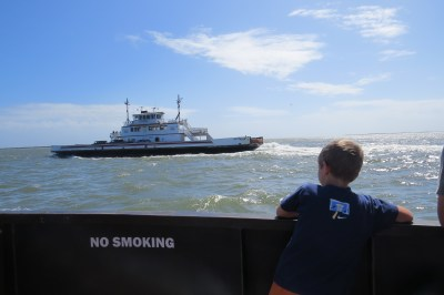 On the Hatteras ferry.