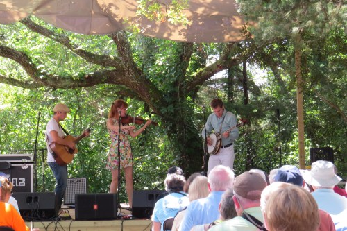The Blue Eyed Bettys were a new band at Ocrafolk Festival this weekend.  Photo by C. Leinbach