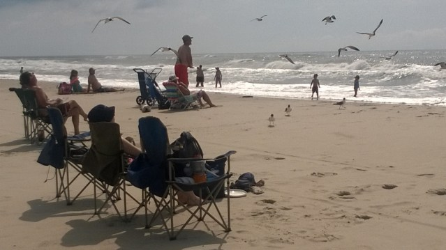 Lifeguard Beach on Ocracoke . Photo by P. Vankevich