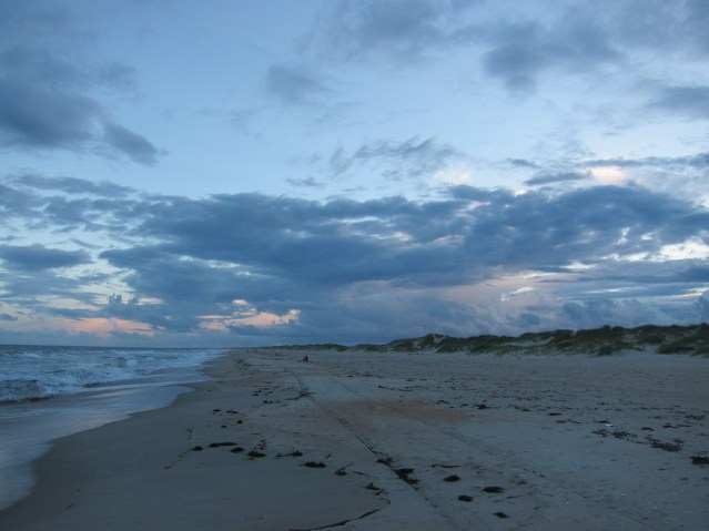 Ocracoke Beach. Photo by Claire Chretien