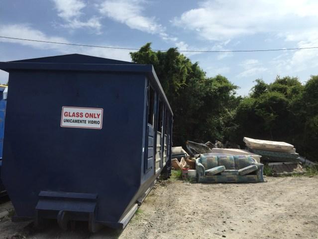 Ocracoke convenience site. Photo by C. Leinbach