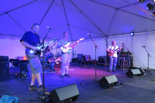 The Ocracoke Rockers conclude the Fig Fest.