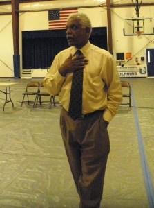 Hyde County Schools Superintendent Dr. Randolph Latimore