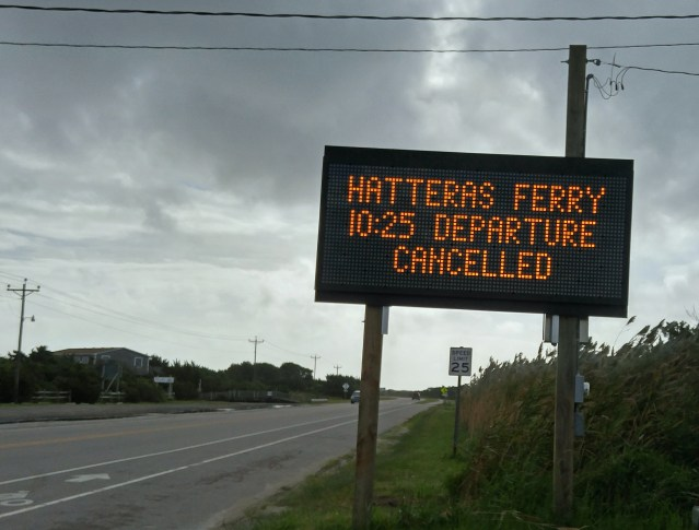 Ferry notification 8:30 a.m. Wed. Sept. 23