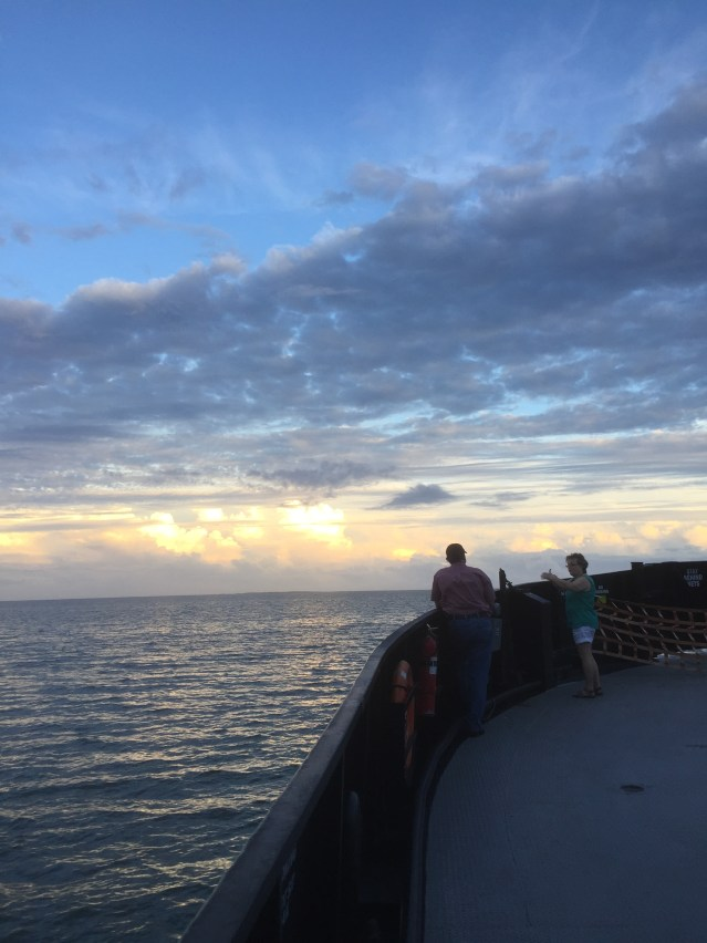 The magic of Ocracoke begins on the ferry ride to the island. Photo by C. Leinbach