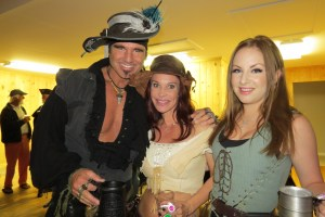Swarthy pirates and wenches at last year's festival.