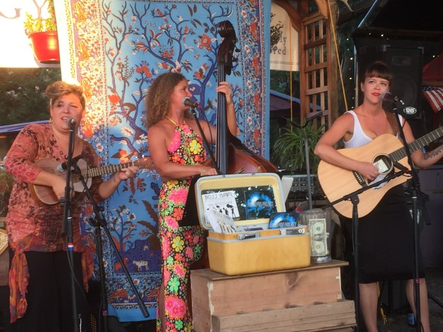 The Madame Presidents play at T.J. Outfitters.
