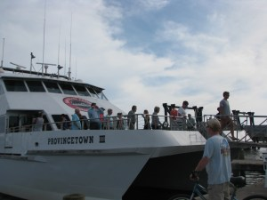 Passenger ferry visiting Ocracoke in May 2015. Observer staff photo.