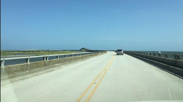 View from Bonner Bridge