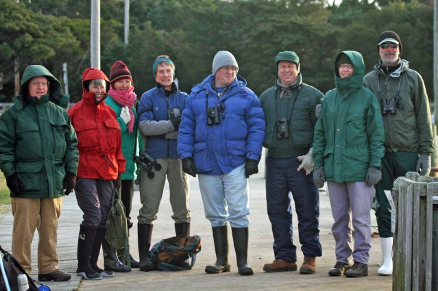Christmas Bird Count participants. Photo by P. Vankevich