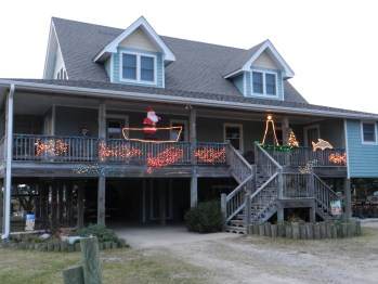 A nautical theme on Cutting Sage Road in Oyster Creek