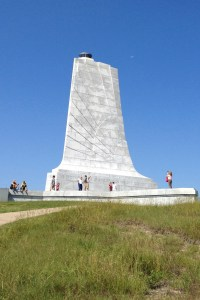 The Wright Brothers National Memorial in Kill Devil Hills. Photo courtesy of the National Park Service