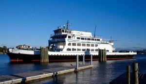 The Pamlico Sound class ferry was sold recently to a private ferry service. Photo courtesy of the NC Ferry Division