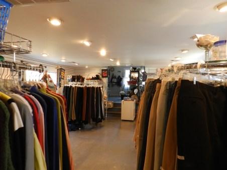 Village Thrift interior