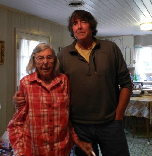 Eleanor Garrish and her son, Jim. Photo by C. Leinbach