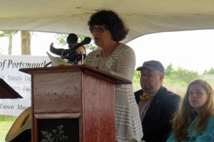 Rosanne Penley, president of Friends of Portsmouth Island. Photo by P. Vankevich